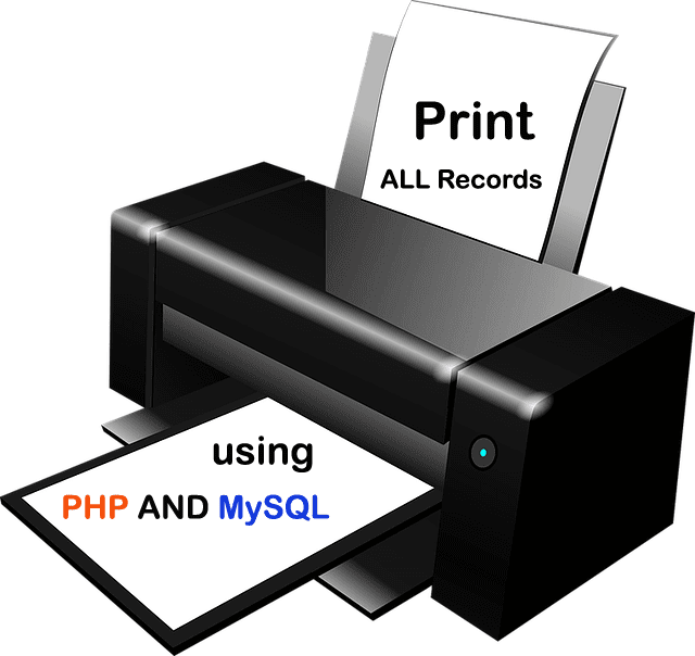 How to Print All Record From Database in PHP - MSK TUTORIAL