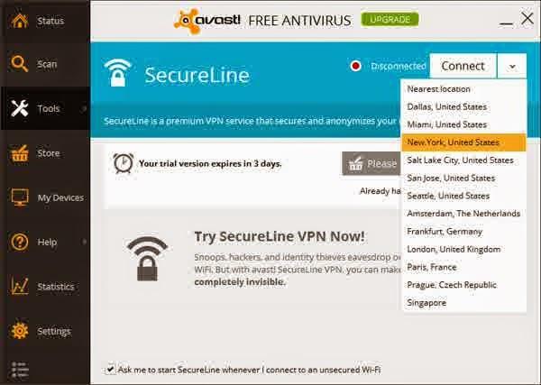 Avast! SecureLine VPN 1.0.24.0 Full Version Plus ...