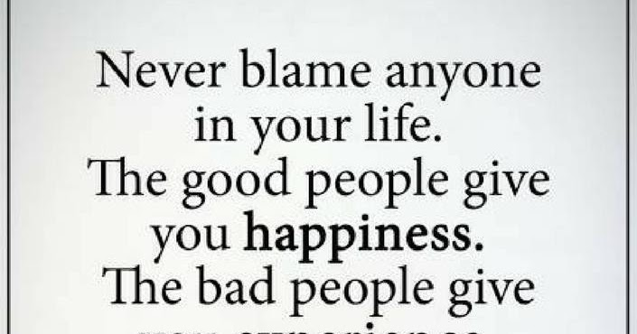 Good Person Quotes Gorgeous Never Blame Anyone In Your Life The Good