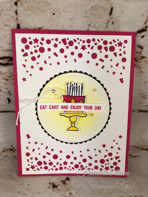 Blow Out the Candles, Frenchie' Team, Stampin'Up!, New release stamp set in the Annual catalog,