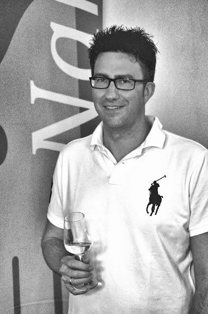 Winzer Sebastian Schäfer vom Weingut Johann Baptist Schäfer an der Nahe