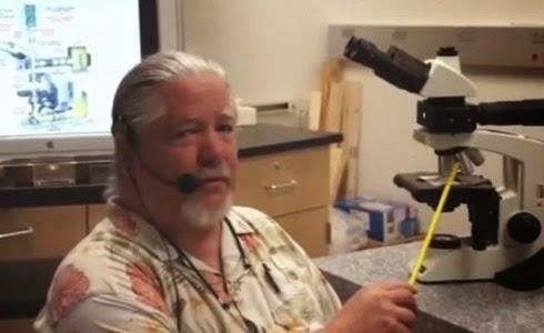 Científico creacionista Mark Armitage