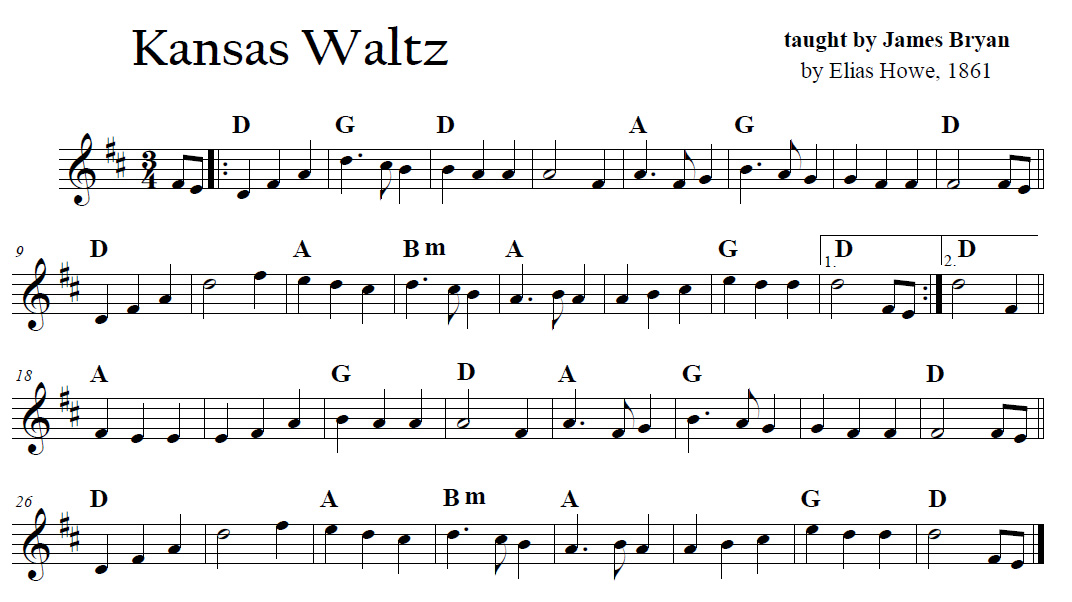 Waltz Across The States: Kansas