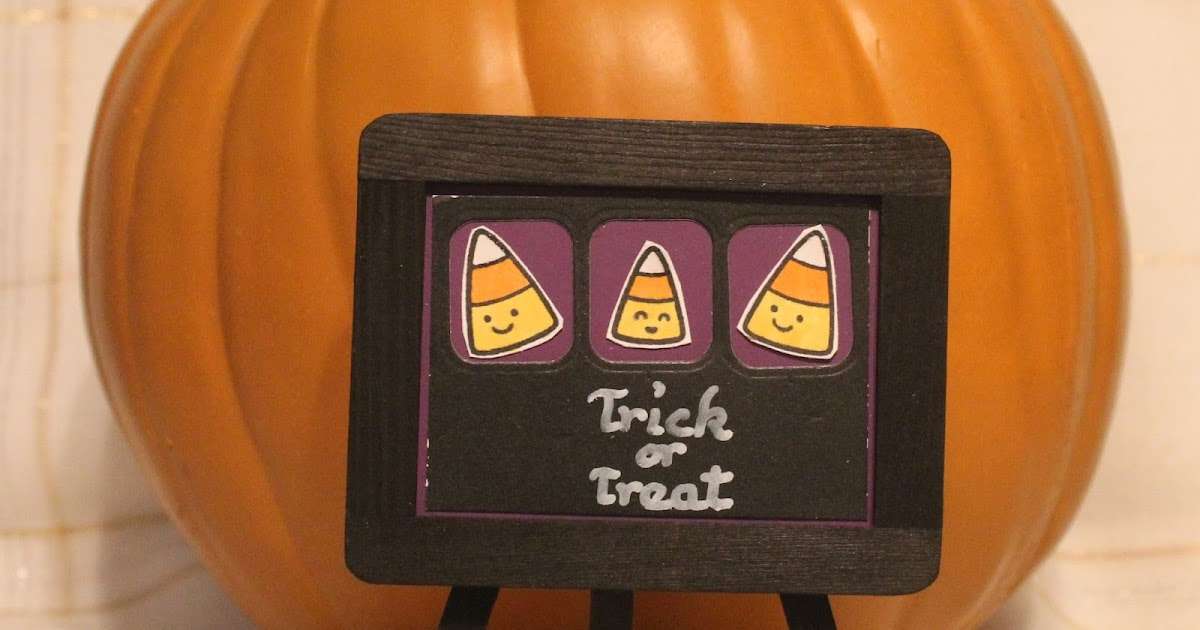 Created by Sunshine HoneyBee: Trick or Treat Chalkboard Sign