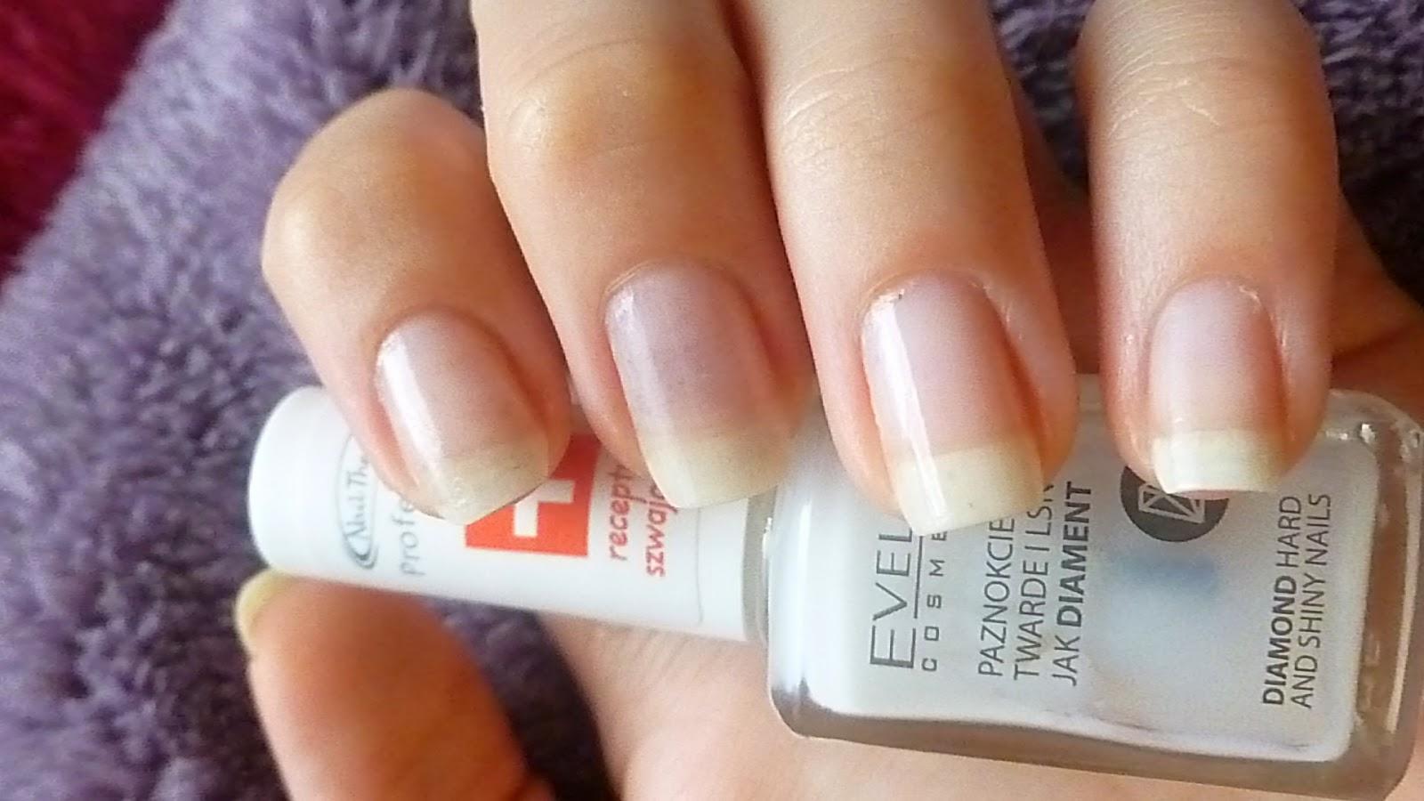 Eveline cosmetics - paznokcie twarde jak diament!