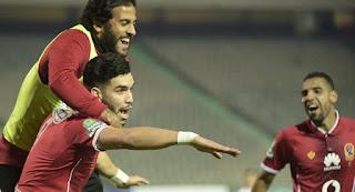 ملخص وأهداف مباراة الرجاء 1 - 3 الأهلي اليوم الجوله 20 الدوري المصري