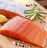 ikan salmon bahan baku laperma