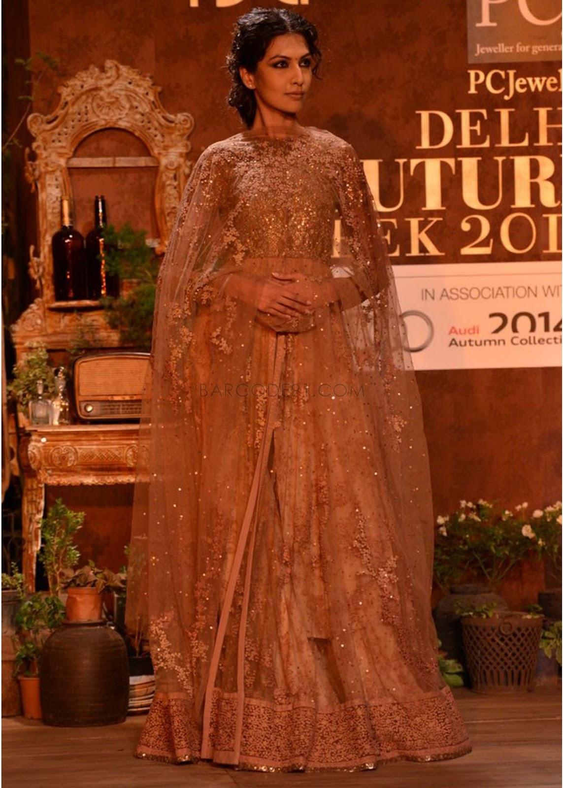Sabyasachi Collection at PCJ Delhi Couture Week 2013 ...