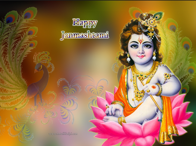 Happy Sri Krishna Janmashtami Quotes,Status  Whatsapp, Facebook