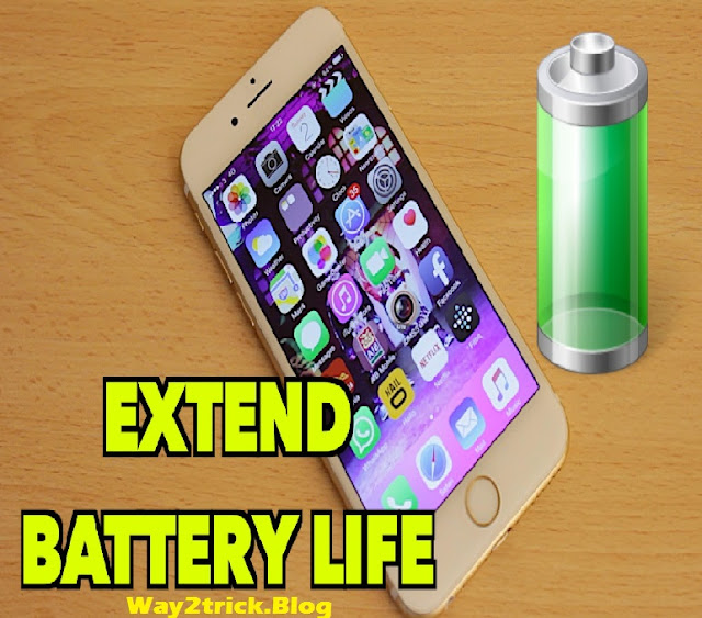 How to extend your Smartphone Battery Life