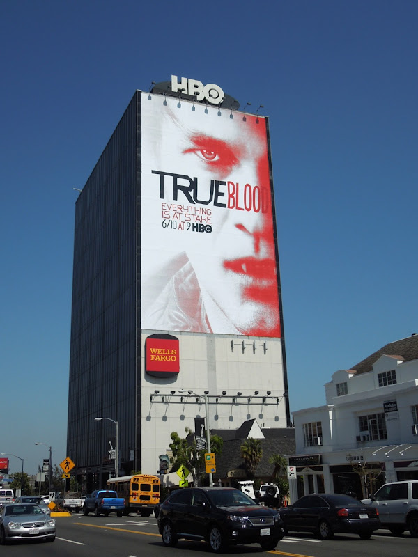 True Blood season 5 Bill Compton billboard