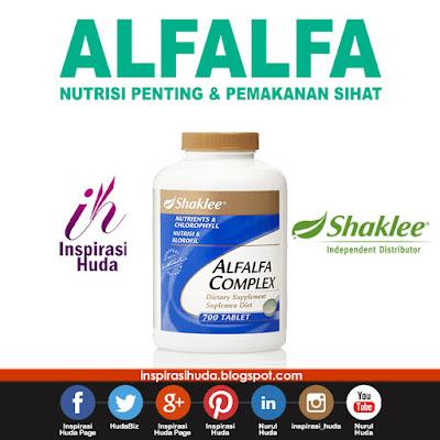 alfalfa, alfalfa complex, shaklee, detox, suplemen, vitamin, produk