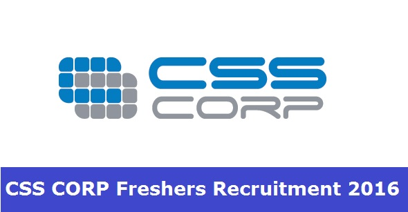 CSS CORP Fresher Walkin Recruitment From 3rd to 5th August