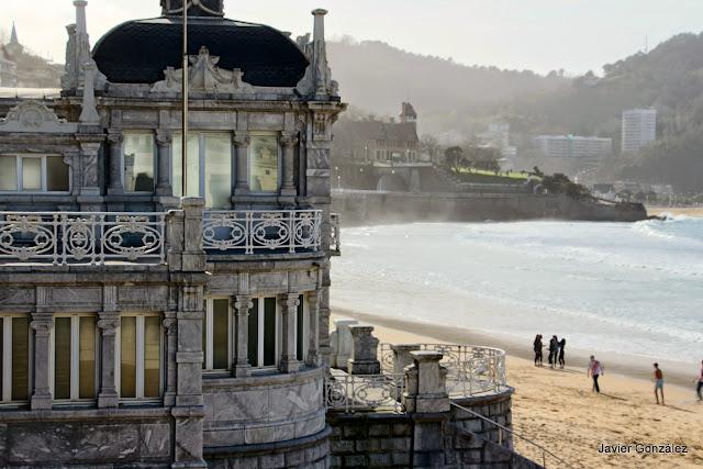 Playa de Ondarreta. La Concha. San Sebastián