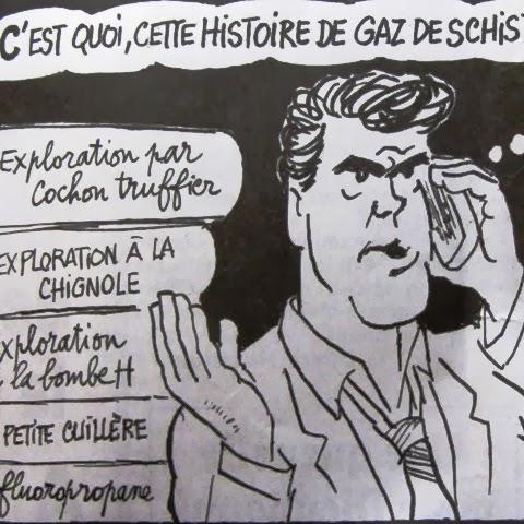Selon le Canard Enchainé, Arnaud Montebourg veut exploiter le gaz de schiste grâce à au fluoropropane