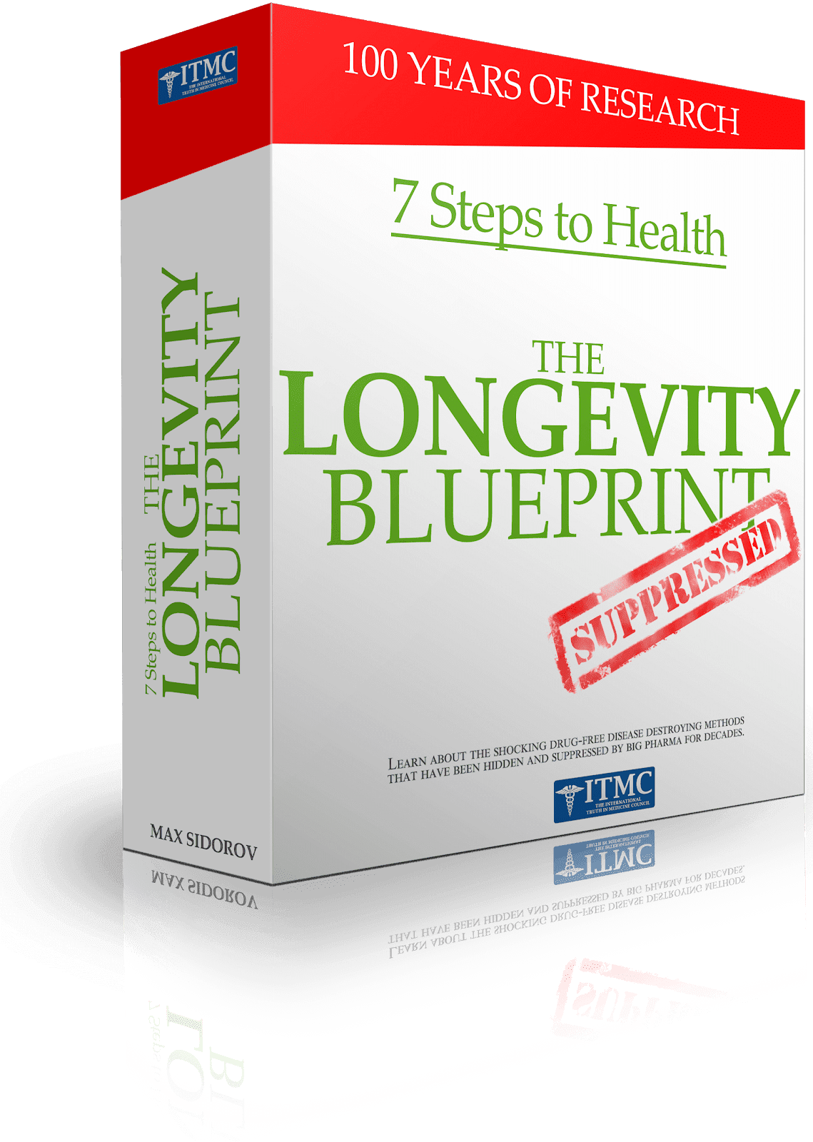 Longevity Blueprint. Staying Healthy Past 40. Click, if You Want ☺.