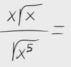 33.Multiplicación y división con radicales