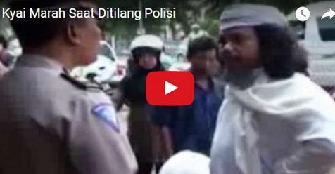 Tak Mau Ditilang, Kyai Ini Malah Ngamuk dan Ungkap Kebobrokan Polisi (Video)