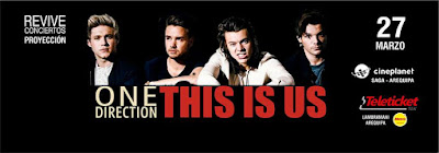 Revive Conciertos presenta: ONE DIRECTION THIS IS US - M.I.T.A.M