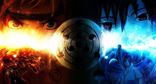Naruto & Saske Wallpaper Engine