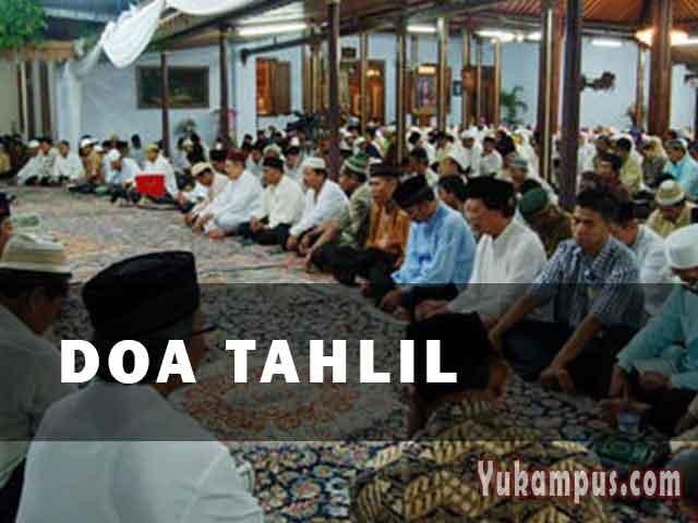 Bacaan Doa Tahlil Dan Setelah Tahlil Arab Latin