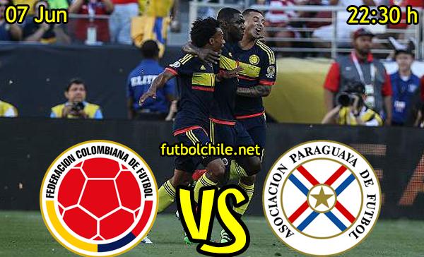 VER STREAM RESULTADO EN VIVO, ONLINE:  Colombia vs Paraguay