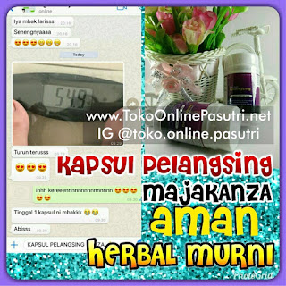 Kapsul Pelangsing Asybi Majakani - Manjakani kanza aceh asli ori original manjakanza