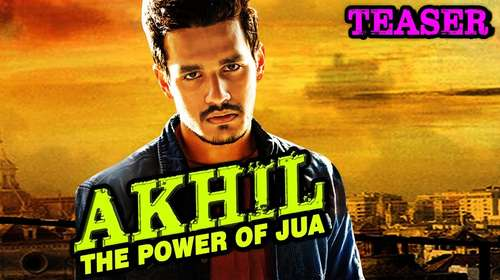 Poster Of Akhil Th Power Of Jua 2017 Hindi Dubbed 300MB HDRip 480p Free Download Watch Online downloadhub.in