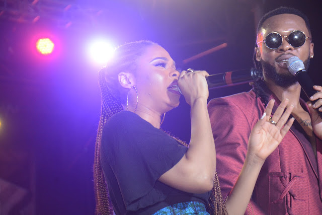 Flirt Vodka and Flavour Thrill Fans In Awka, Anambra State