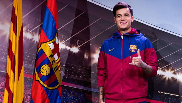 Coutinho Messi Barça