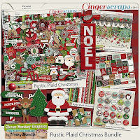 Kit : Rustic Plaid Christmas by Clever Monkey Graphics