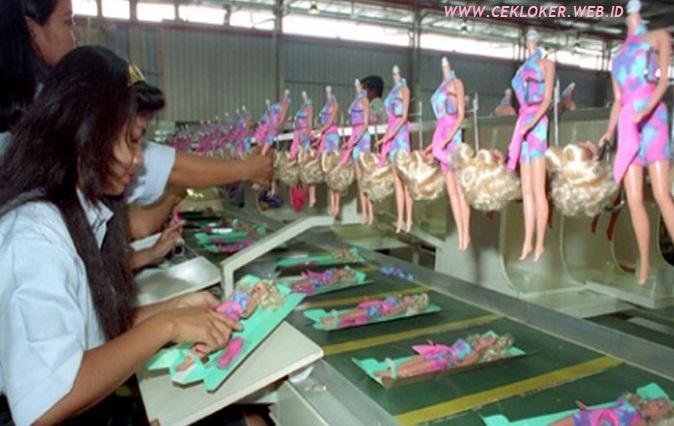 Lowongan kerja Cikarang Hari INI,PT.Mattel Indonesia Tamatan SMA SMK Sederajat