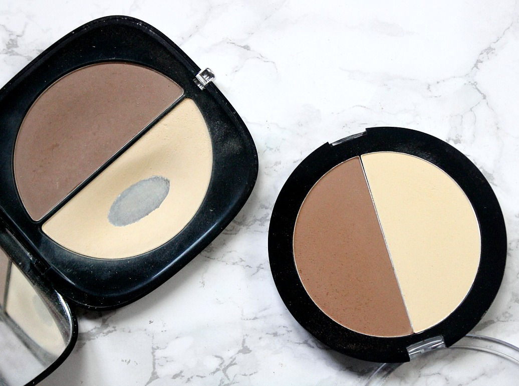 This or That | Marc Jacobs #instamarc light filtering contour powder in Mirage V Wet'n'Wild megaglo contouring palette in caramel toffee