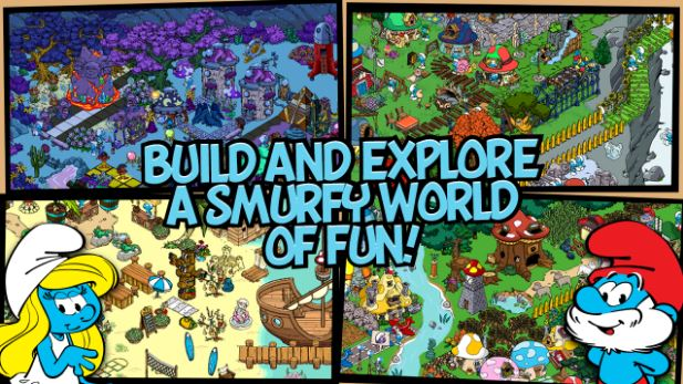 Smurfs' Village v1.7.5a Mod Apk+Data