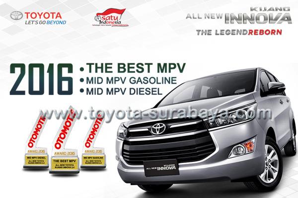 All New Toyota Kijang Innova, The Best MPV 2016