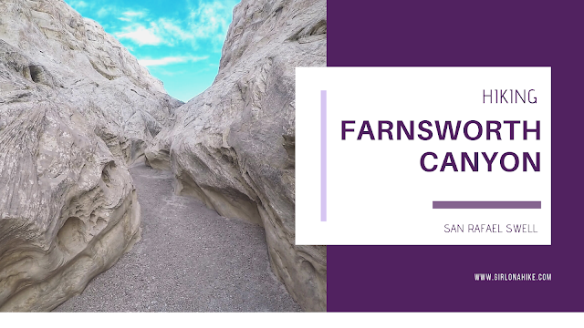Hiking in Farnsworth Canyon, San Rafael Swell