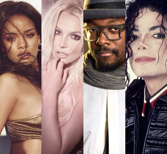 will.i.am tiene canciones inéditas con Rihanna, Britney Spears y Michael Jackson