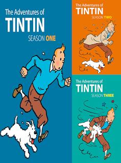 Las Aventuras de Tintin: Temporadas 1, 2, y 3 [DVD5] [Latino]