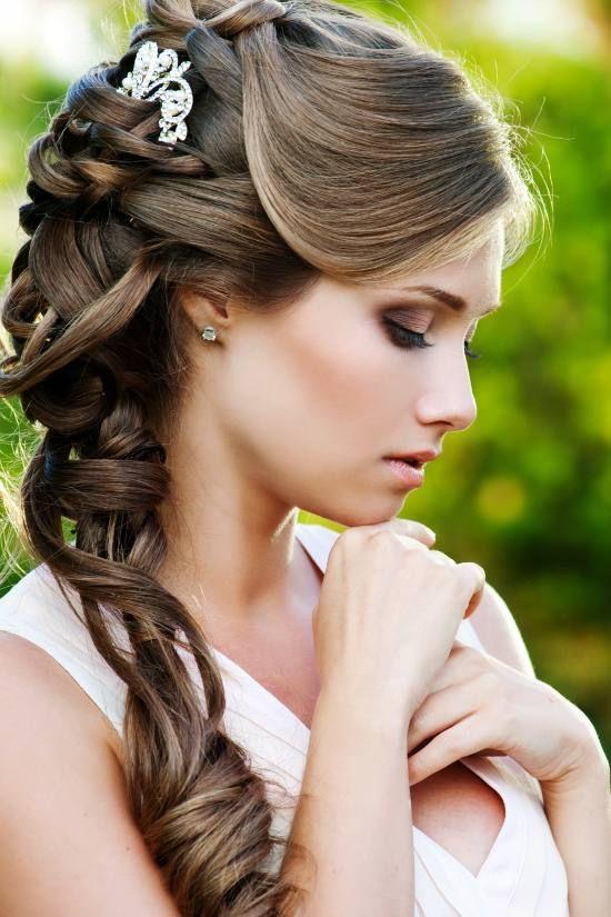 Peinados de novia con flequillo Los mejores looks (Foto) Ella Hoy - peinados con flequillo para boda