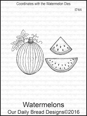 Our Daily Bread Designs Stamp Set: Watermelons