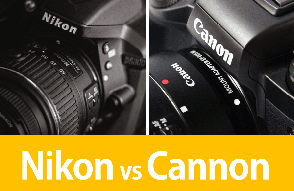 Nikon Vs Cannon