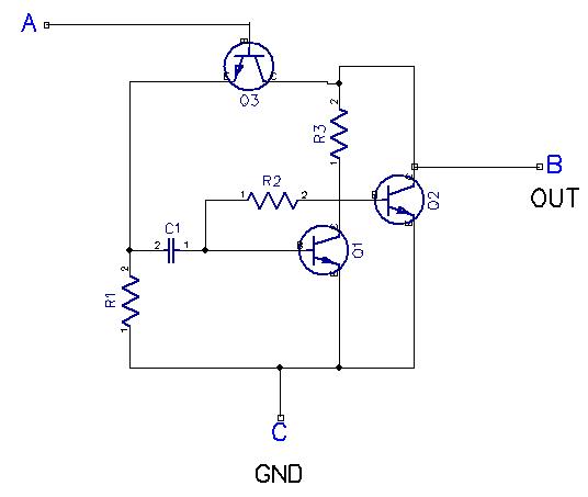 Simple 5 transistor AM receiver circuit
