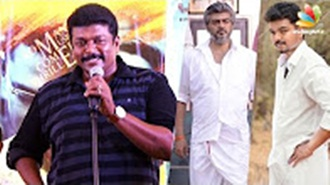 It is not necessary to release Vijay, Ajith movies in festival days : R. Parthiban Speech