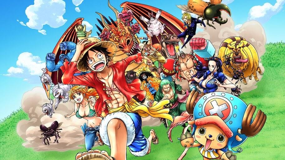 Straw Hat Pirates, One Piece, 8K, #6.171