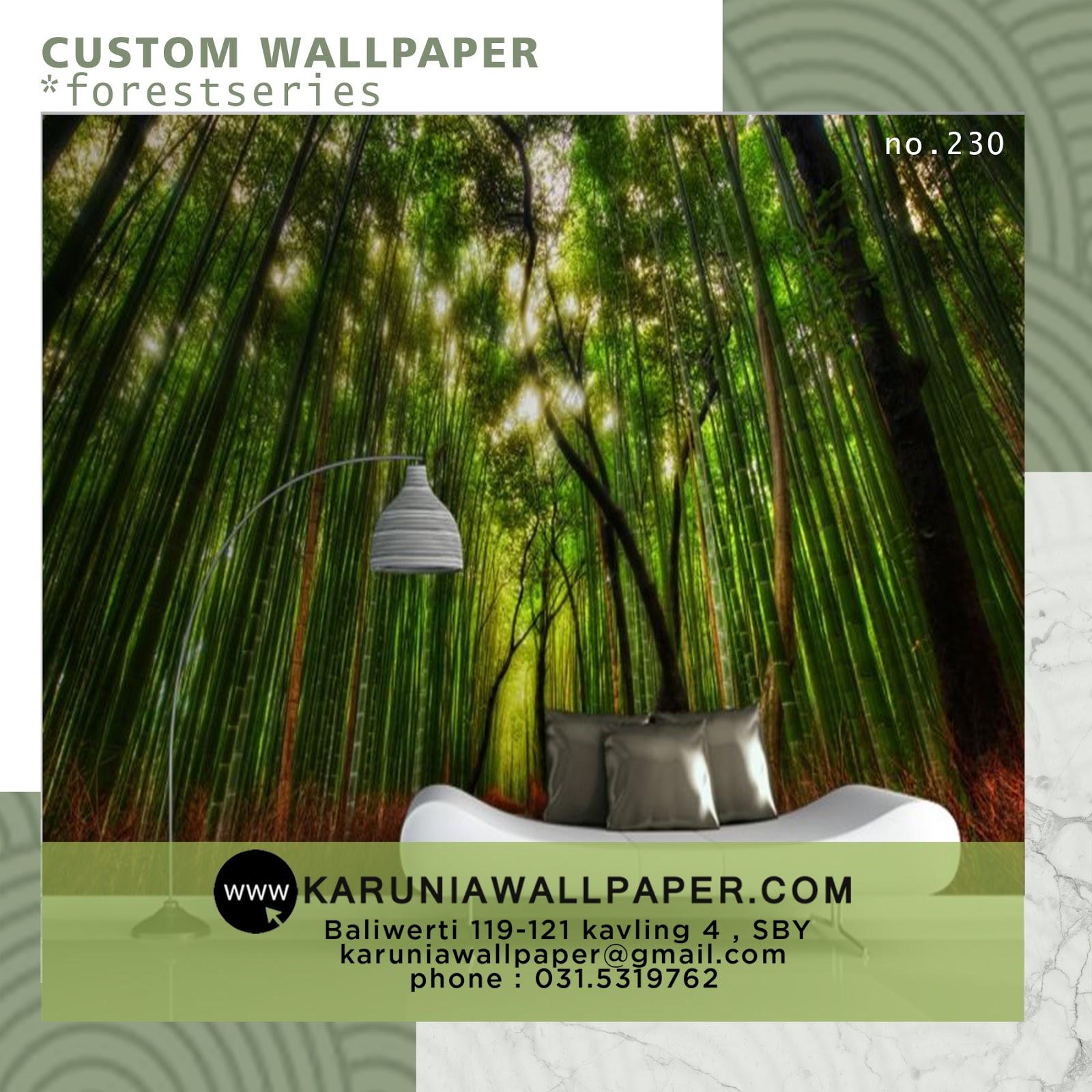 jual wallpaper dinding bambu