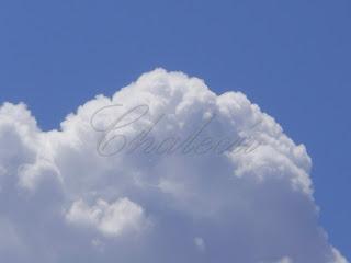nube en el valle del jerte