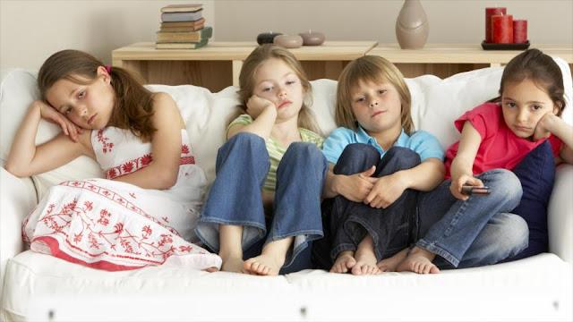¿Por qué los niños se aburren más que antes?