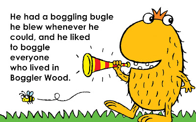 A picture of the boggler with his boggling bugle