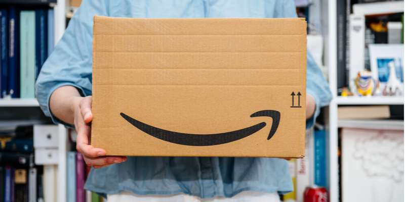 Amazon Courier Delivery, ecommerce