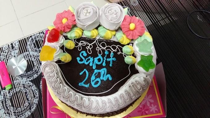 HAPPY BIRTHDAY SAPIT!